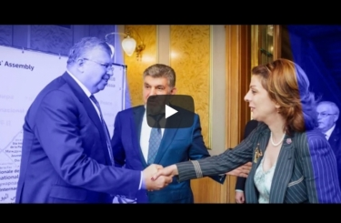 The Official reception of the Eurasian Peoples' Assembly on the International Day of Peace 21 September 2018