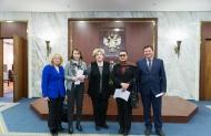 Актив Совета МСБ Ассамблеи народов Евразии принял участие в работе Российско-Монгольской межправкомиссии. Москва, 28 февраля 2018