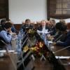 Делегация Ассамблеи народов Евразии во главе с Генеральным секретарём А.Ю. Бельяниновым 16.10.2017 г. побывала в Евразийском национальном университете имени Л.Н. Гумилева